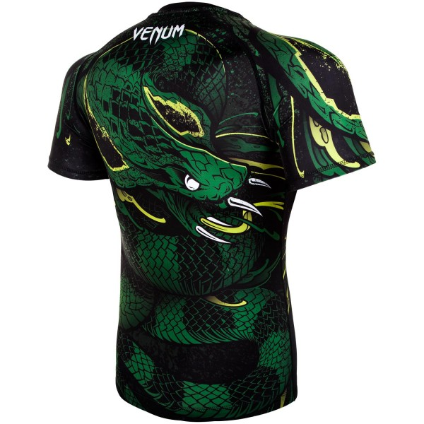 Рашгард Venum Green Viper Black/Green S/S
