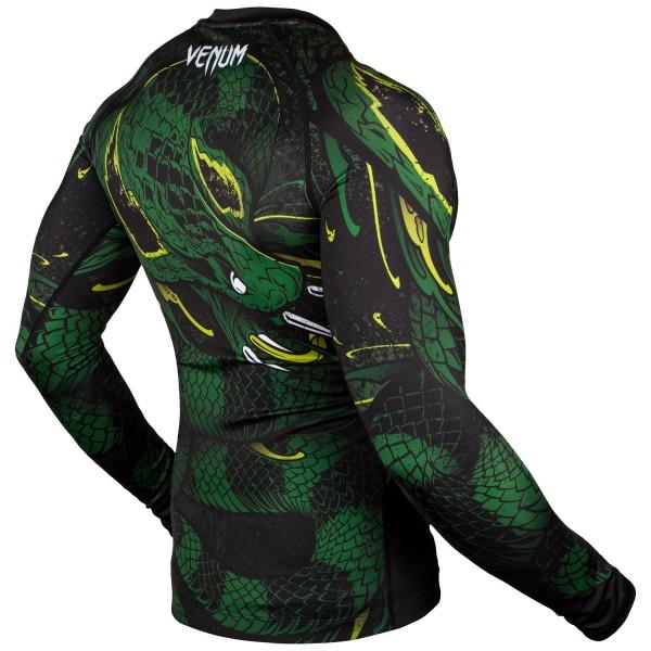 Рашгард Venum Green Viper Black/Green L/S