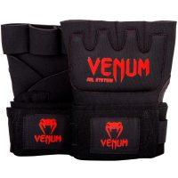 Гелевые бинты боксерские Venum Gel Kontact Black/Red
