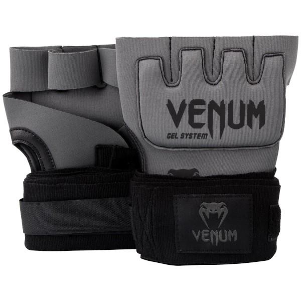 Гелевые бинты боксерские Venum Gel Kontact Grey/Black