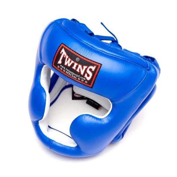 Шлем боксерский Twins HGL-3 Blue