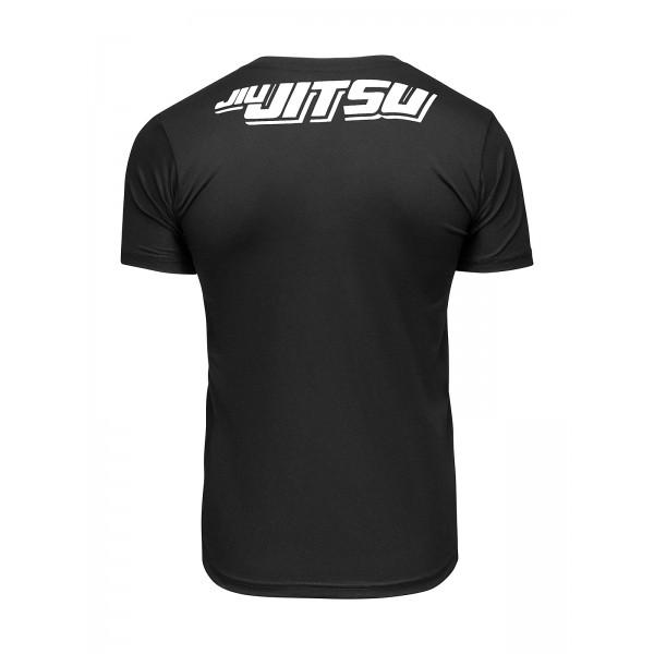 Футболка Athletic pro. Skeleton Jiu Jitsu Black