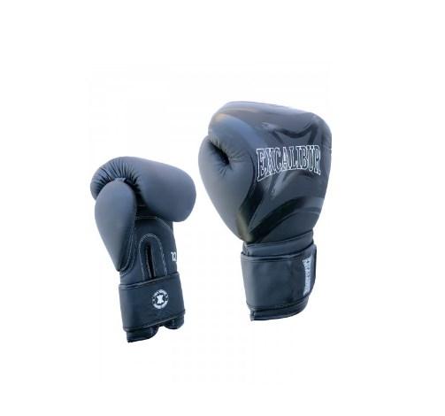 Перчатки боксерские Excalibur 8046/01 Black/White PU