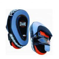 Лапы боксерские Excalibur 828/02 Grey/Black/Orange Буйволиная кожа (пара)