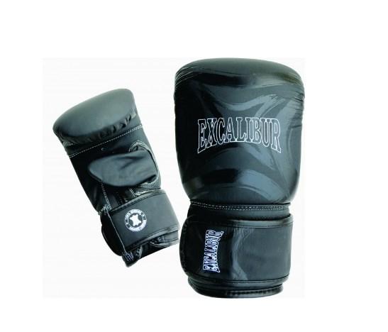Перчатки снарядные Excalibur 682/01 Black Буйволиная кожа
