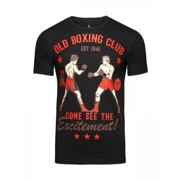 Футболка Athletic pro. Old Boxing Club Black