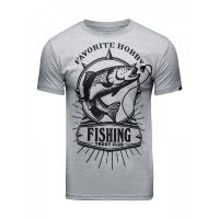 Футболка Athletic pro. Fishing Gray