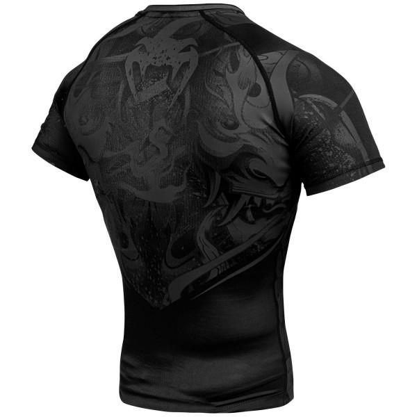Рашгард Venum Devil Black/Black S/S