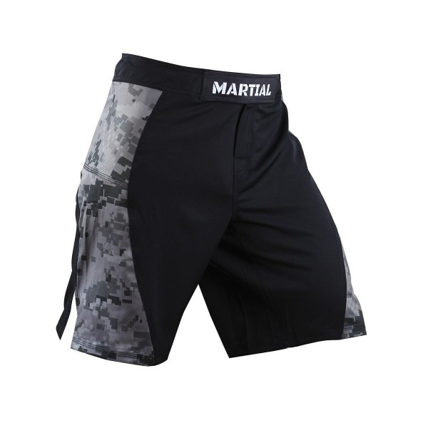 Шорты ММА Athletic pro. Camo/Black MS-18