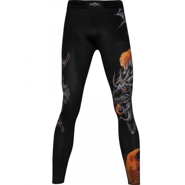 Компрессионные штаны Athletic pro. Dragon Flight MSP-139