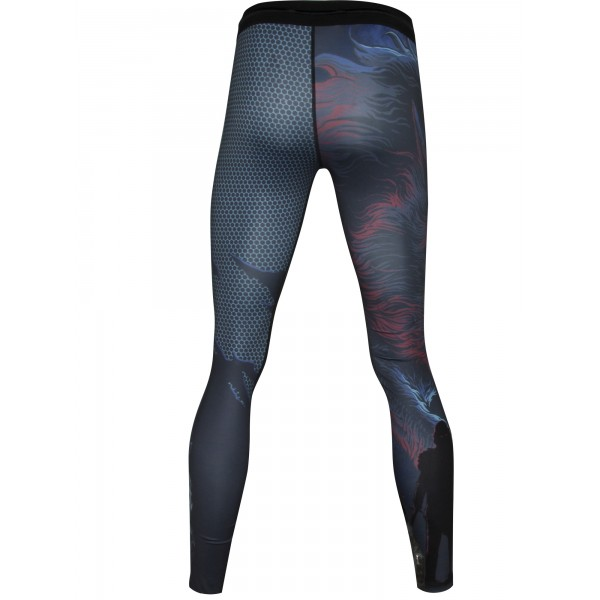 Компрессионные штаны Athletic pro. Werewolf MSP-138