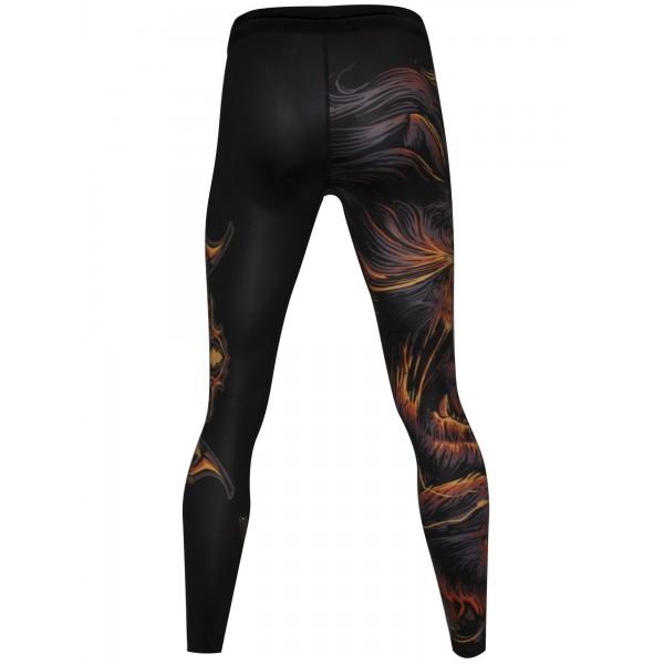 Компрессионные штаны Athletic pro. Leo Brown MSP-140