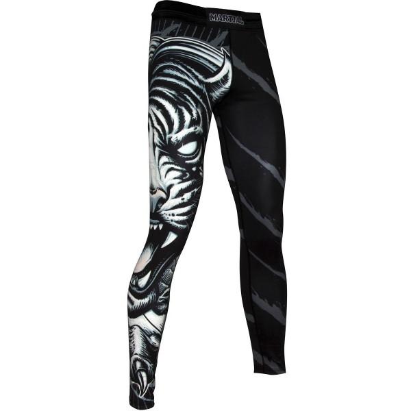 Компрессионные штаны Athletic pro. Tiger MSP-136
