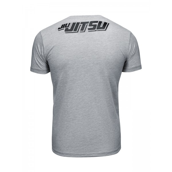 Футболка Athletic pro. Skeleton Jiu Jitsu Grey