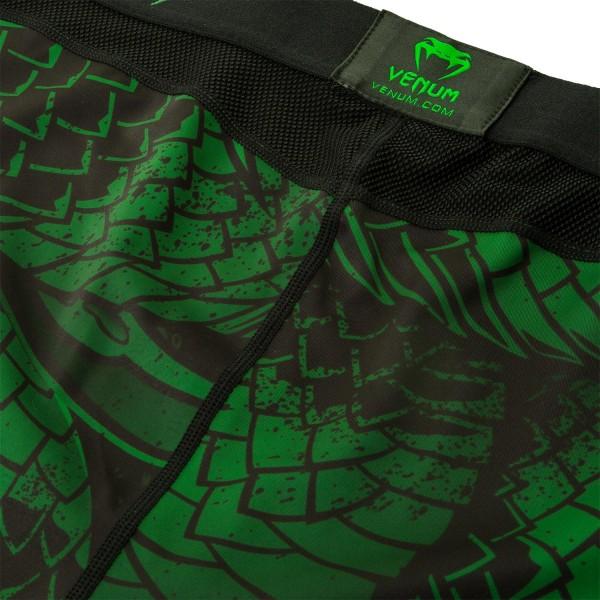 Компрессионные штаны Venum Green Viper Black/Green