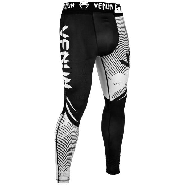 Компрессионные штаны Venum NoGi 2.0 Black/White