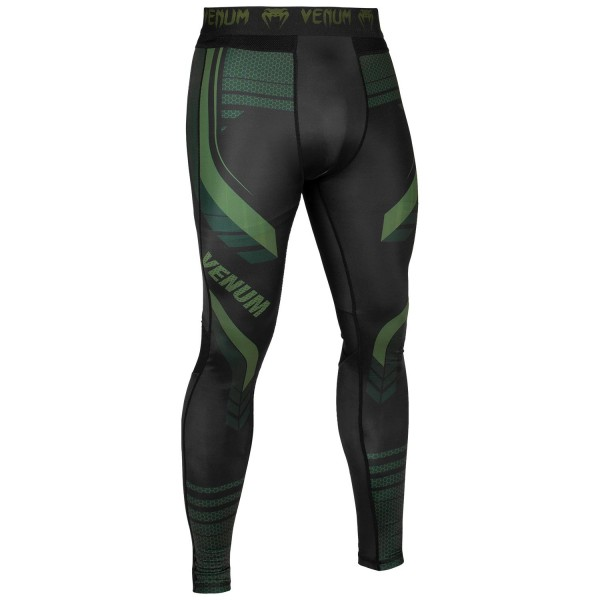 Компрессионные штаны Venum 2.0 Technical Khaki/Black