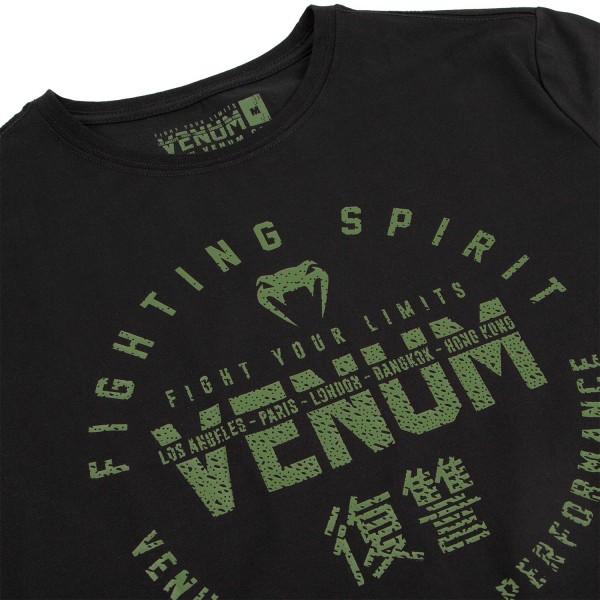 Футболка Venum Signature Khaki/Black