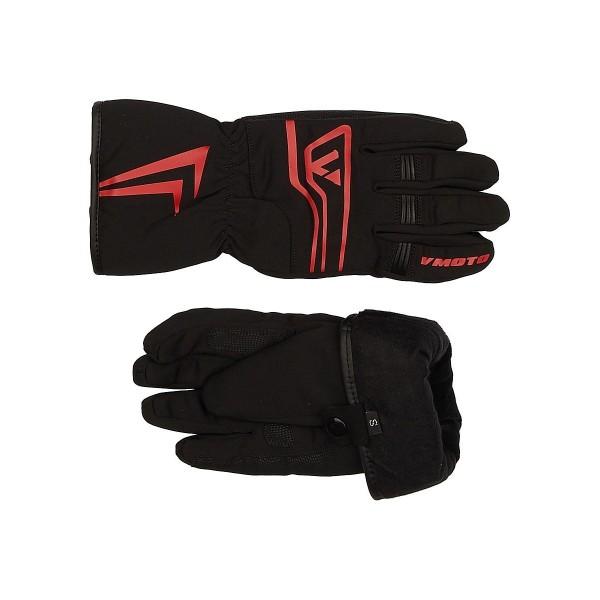 Мотоперчатки Vmoto 1251 Black/Red