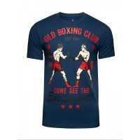 Футболка Athletic pro. Old Boxing Club Blue