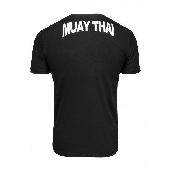 Футболка Athletic pro. Muay Thai Fighting Spirit Black