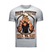 Футболка Athletic pro. Popeye Fight of the Century Gray