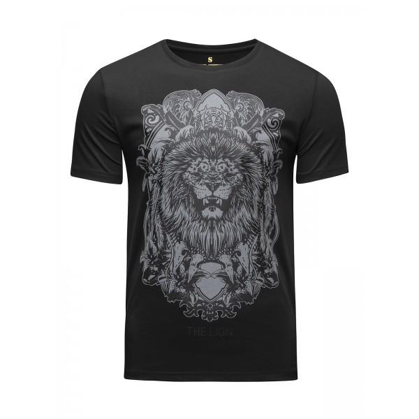 Футболка Banji Lion Black