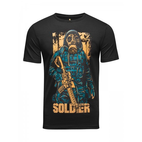 Футболка Banji Soldier Black