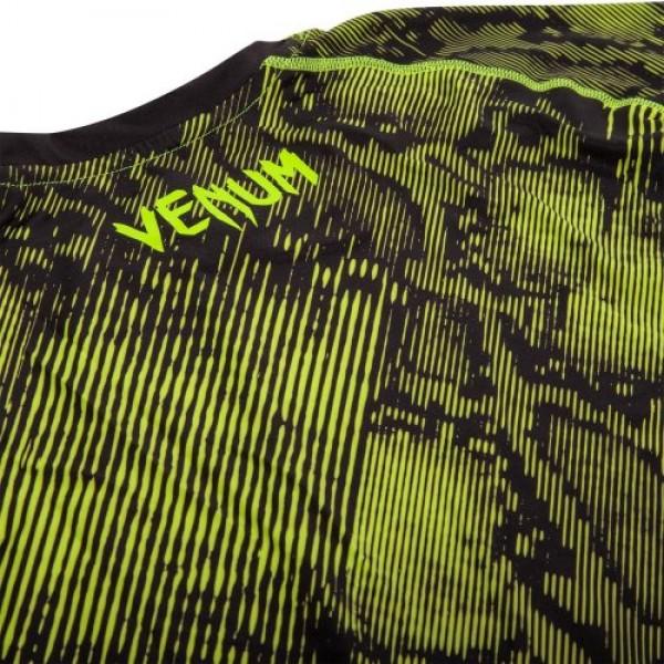 Рашгард Venum Fusion Black/Yellow S/S