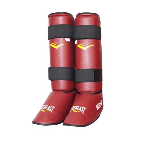 Защита голени и стопы для рукопашного боя HSIF PU Everlast