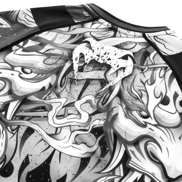 Рашгард Venum Devil White/Black L/S
