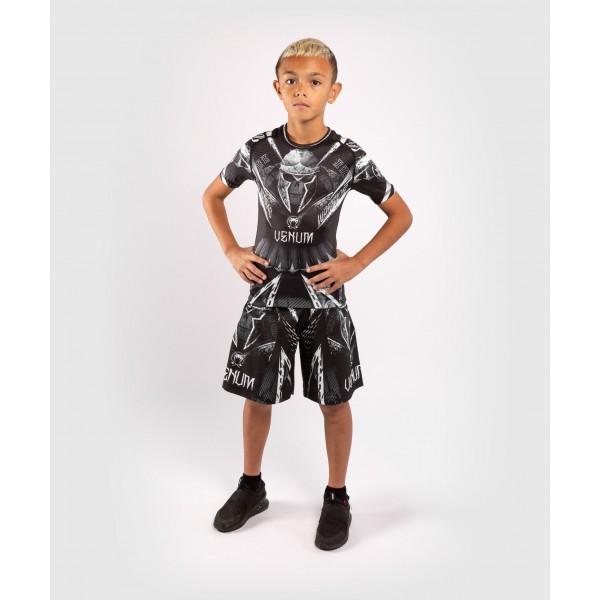 Шорты детские Venum Gladiator 4.0 Black/White