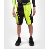 Шорты детские Venum Training camp 3.0 Black/Neo Yellow