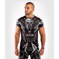 Футболка Venum Gladiator 4.0 Dry Tech Black/White