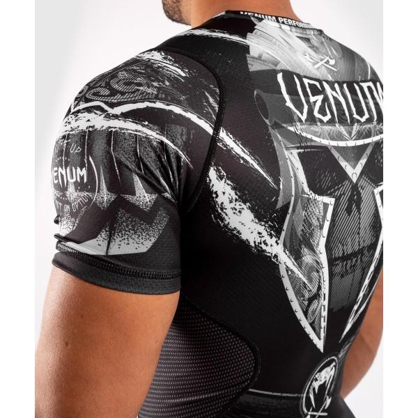 Рашгард Venum Gladiator 4.0 Black/White S/S