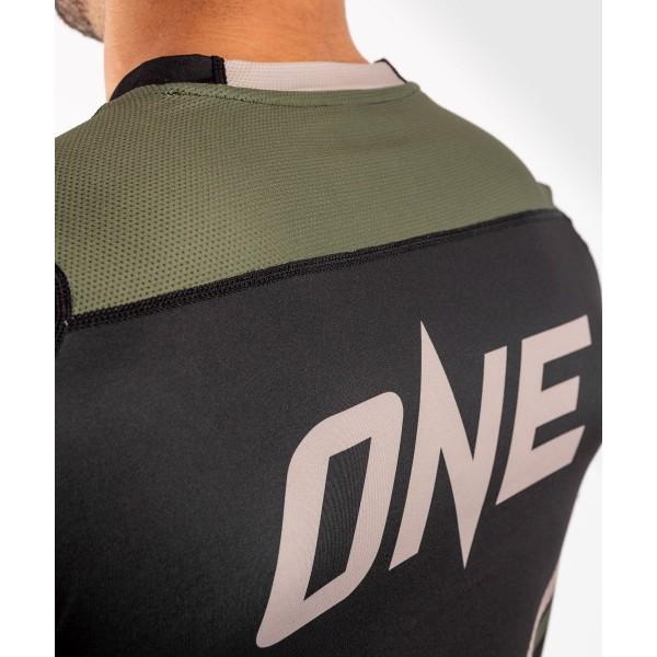 Футболка Venum ONE FC Impact Dry Tech Black/Khaki