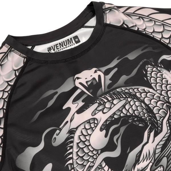 Рашгард Venum Dragon's Flight Black/Sand L/S