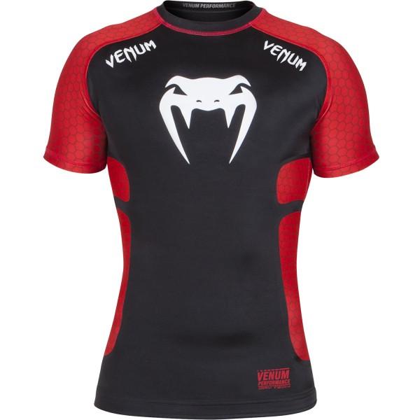 Рашгард Venum Absolute Black/Red S/S