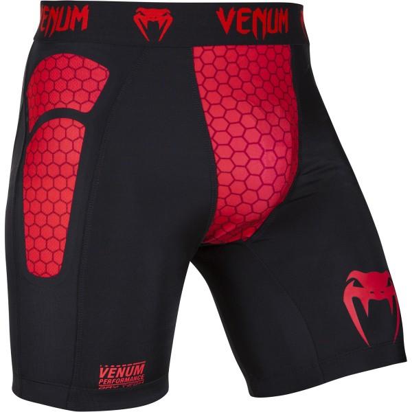 Компрессионные шорты Venum Absolute Black/Red