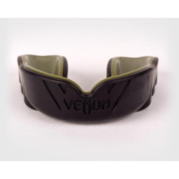 Капа боксерская Venum Challenger Black/Khaki
