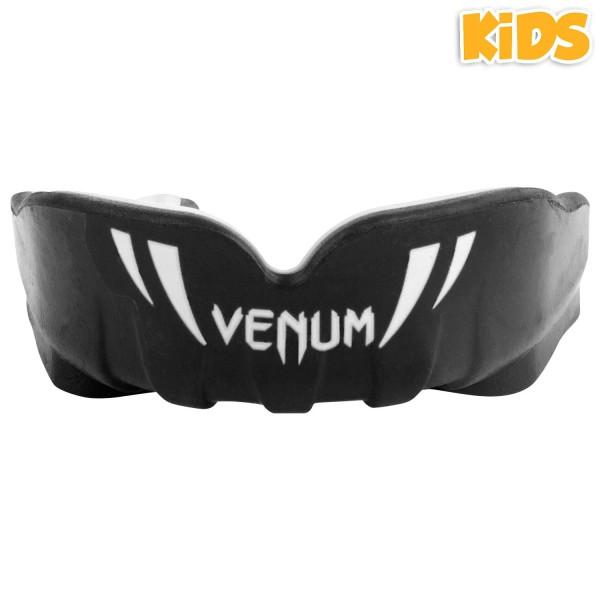 Капа боксерская детская Venum Challenger Black/White