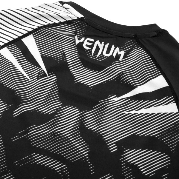 Рашгард Venum NoGi 2.0 Black/White S/S