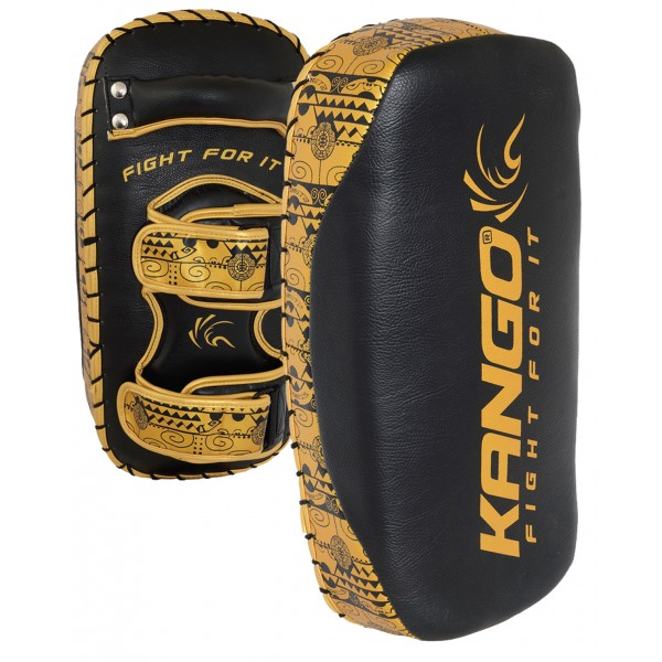 Пэды Kango KFS-048 Black/Golden PU