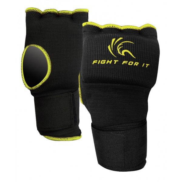 Гелевые перчатки Kango KSH-067 Black/Yellow