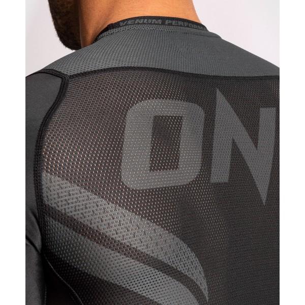 Рашгард Venum ONE FC Impact Black/Black S/S
