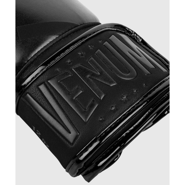 Перчатки боксерские Venum Devil Black/Black