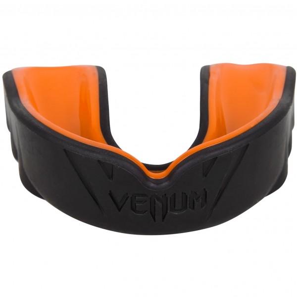 Капа боксерская Venum Challenger Black/Orange