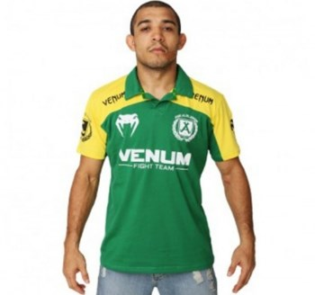 Поло Venum Jose Aldo Junior Signature Polo - Brazil Edition