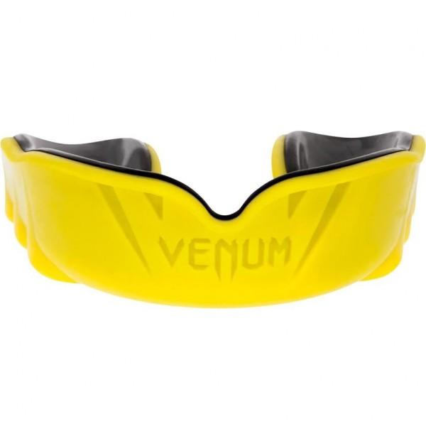 Капа боксерская Venum Challenger Yellow/Black