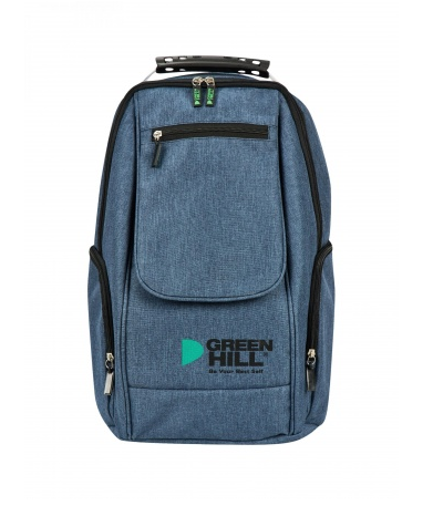 SKB-222 Рюкзак с клапаном Green Hill синий